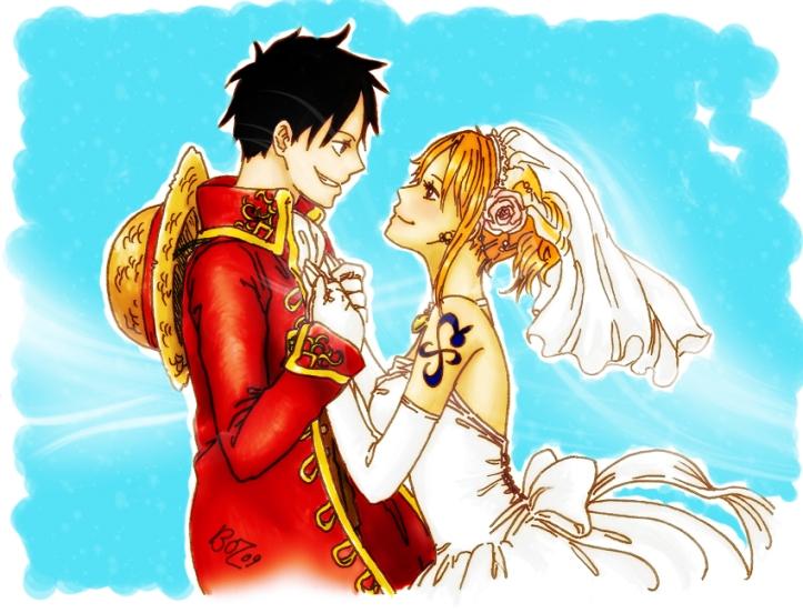 Luffy & Nami