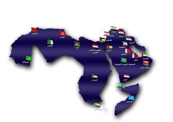 خارطة الوطن العربي